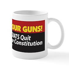 Pol 47b Well Keep Our Guns Bumper Stick Mug