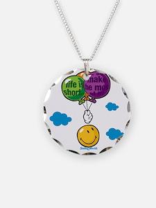 Ballon Smiley Necklace