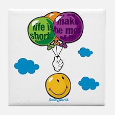 Ballon Smiley Tile Coaster