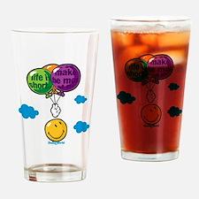 Ballon Smiley Drinking Glass