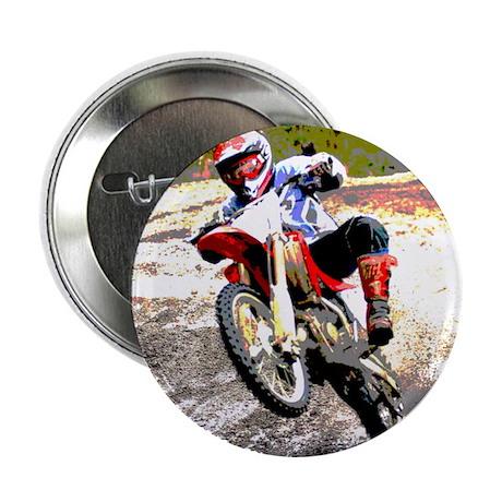 Dirt bike wheeling in mud Button