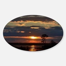 Hunting Island SC Sunset Decal