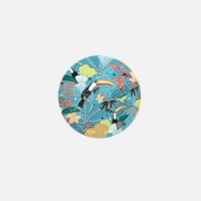 Tropical Toucans Mini Button