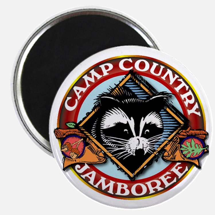 Camp Country PNG Logo Magnet