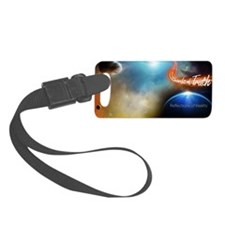 Full Remixed Double LP Graphic Luggage Tag