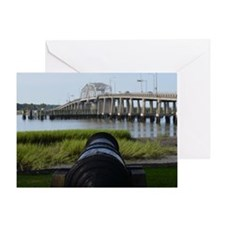 Beaufort Battery Greeting Card
