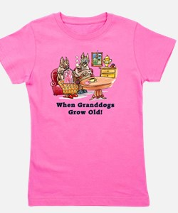 When Granddogs Grow Old Girl's Tee