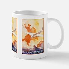 Railway Express Poster 1935 Mug