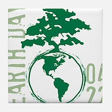Earth Day 04/22 Tile Coaster
