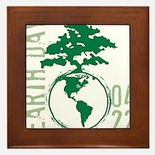 Earth Day 04/22 Framed Tile