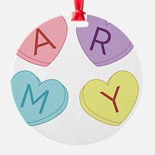 Army Sweettarts Ornament