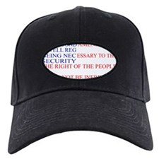 The Second Amendment Flag Baseball Hat
