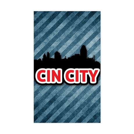Cin City Sticker (Rectangle)