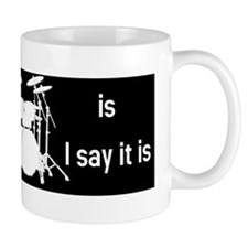The tempo is what I say (TS-W) Mug