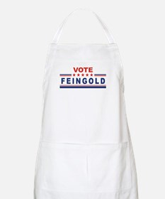 Russ Feingold in 2008 BBQ Apron
