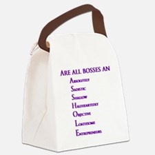 Are all bosses an ASSHOLE Canvas Lunch Bag