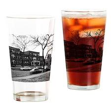abt 1949 Ott Hospt Old Drinking Glass