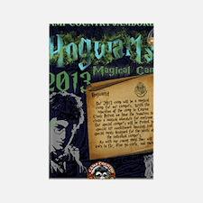 Hogwarts Poster Rectangle Magnet
