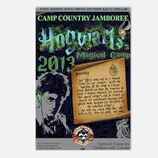 Hogwarts Poster Postcards (Package of 8)