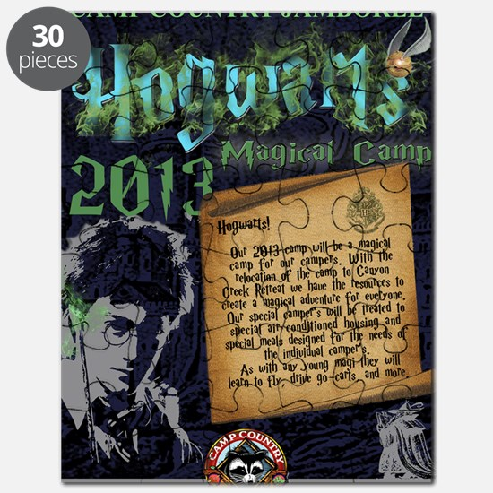 Hogwarts Poster Puzzle