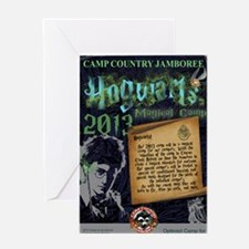 Hogwarts Poster Greeting Card