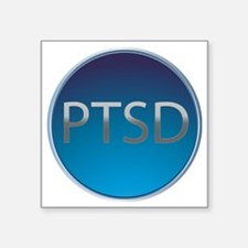 "PTSD Square Sticker 3"" x 3"""