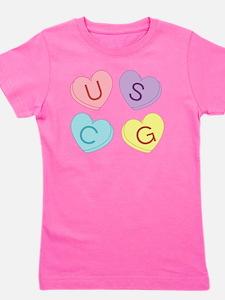 USCG Sweettarts Girl's Tee