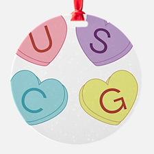 USCG Sweettarts Ornament