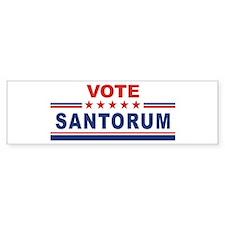 Rick Santorum in 2008 Bumper Bumper Sticker