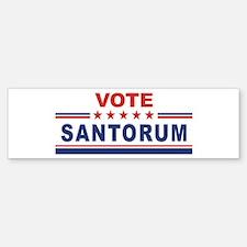Rick Santorum in 2008 Bumper Bumper Bumper Sticker