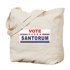 Rick Santorum in 2008 Tote Bag