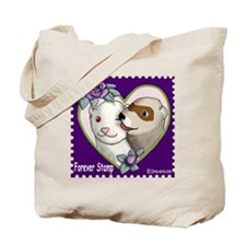 Ferret Stamp Tote Bag