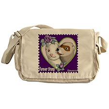 Ferret Stamp Messenger Bag