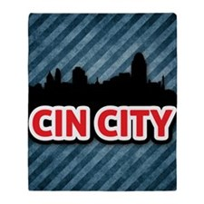 Cin City Throw Blanket