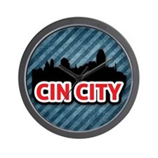 Cin City Wall Clock