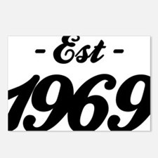 Established 1969 - Birthd Postcards (Package of 8)