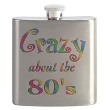 Crazy About The 80s Flask