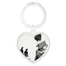 Coriline Balloon Heart Keychain
