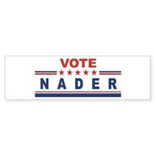 Ralph Nader in 2008 Bumper Bumper Sticker