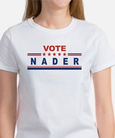 Ralph Nader in 2008 Women's T-Shirt