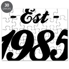 Established 1985 - Birthday Puzzle