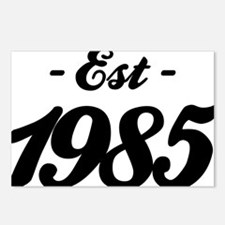 Established 1985 - Birthd Postcards (Package of 8)