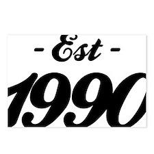 Established 1990 - Birthd Postcards (Package of 8)