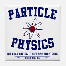 Particle Physics Tile Coaster