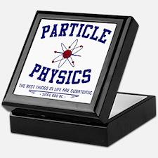 Particle Physics Keepsake Box
