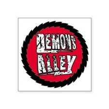 "Demons Alley Fireball Square Sticker 3"" x 3"""