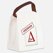 Certified Delta Diva Forever Canvas Lunch Bag