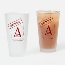 Certified Delta Diva Forever Drinking Glass