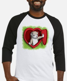 Heart door Baseball Jersey