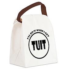 Get Around Tuit Canvas Lunch Bag